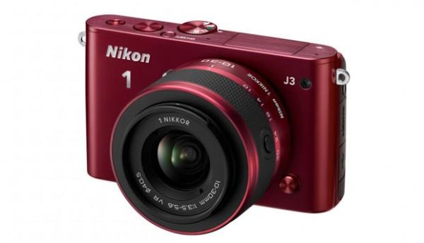 Nikon 1 J3 red