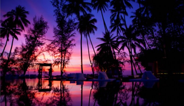 POOL_SUNSET at Nikki Beach Beach Koh Samui