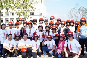 4 Helmet's campaign