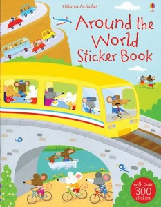 Activity Books from KidsLovePlay Around The World Sticker Book