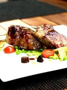 Grilled Western Australian Lamb Cutlets