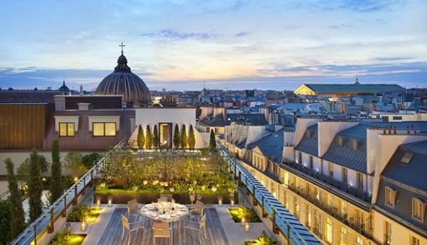 Mandarin Oriental, Paris - Terrasse Suite Royale Orientale