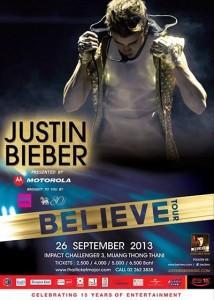 1 Justin Bieber