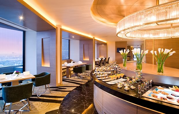 The Club Lounge Of This Hotel Offers An Atmosphere Exclusivity And Is Large Enough For Privacy There Are Small Rooms Functions Boardrooms