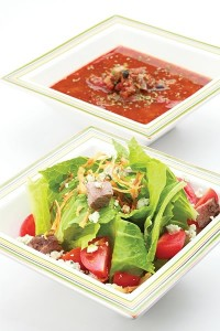Salad Soup Combo