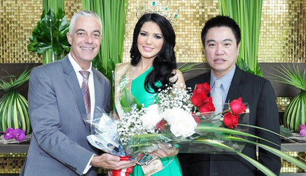 Chatrium Hotel Riverside congratulates Miss Grand International 2013