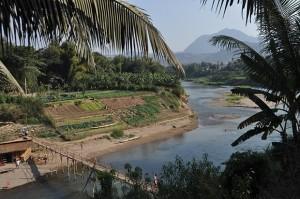 Laos - Nam Khan River, Luang Prabang