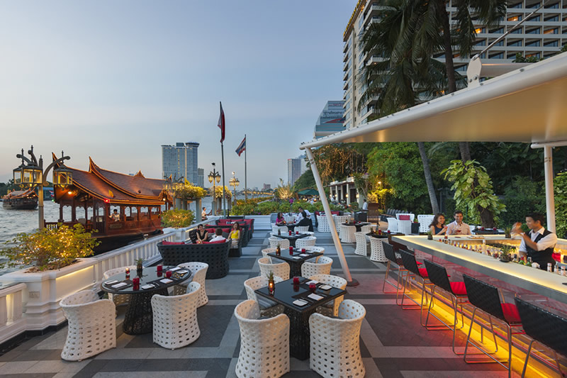 Bangkok river nights - Hotel mandarin restaurante ...