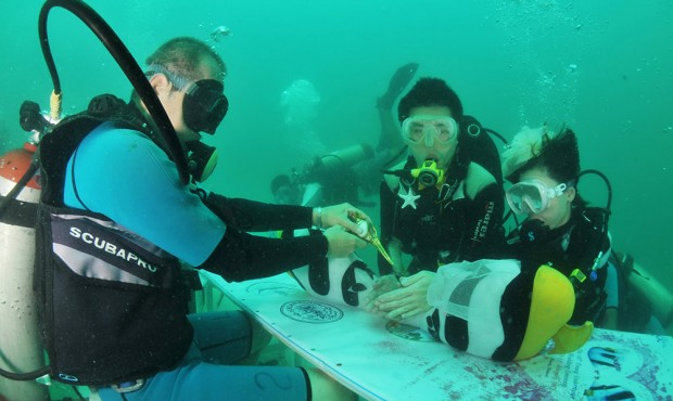 Trang Underwater Wedding