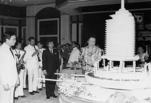 An anniversary celebration at Dusit Thani Bangkok