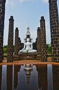 The Grande Hall of Wat Mahathat, Sukhothai Historical Park