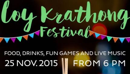 Loy Krathong Festival Novotel Bangkok Pholoenchit Sukhumvit