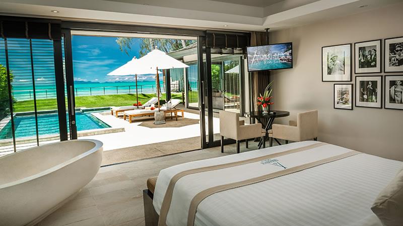 Romantic hideaways in phuket samui and krabi for Design hotel krabi
