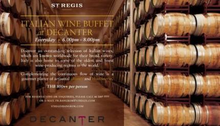 Decanter Wine Buffet 1