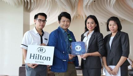 Hilton Pattaya - Booking.com awards 2015