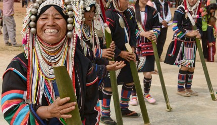 Hill Tribes - Akha Dance
