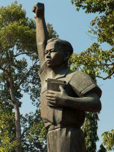 Ben Tre Communist Statue