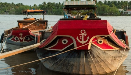 Boats with eyes