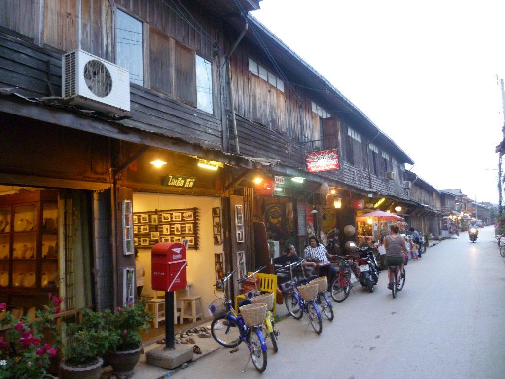 Heritage houses in Chiang Khan