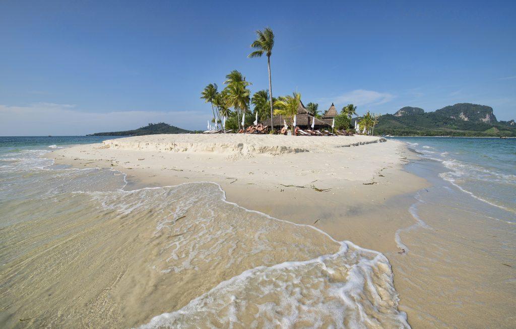 Beautiful beach on Koh Mook island in Thailand