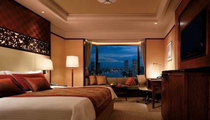 Simply Wellness Deluxe River Room Shangri-La Bangkok