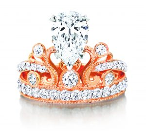 Tiara Princess Ring by DER MOND