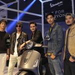 Launch of Vespa in Thailand