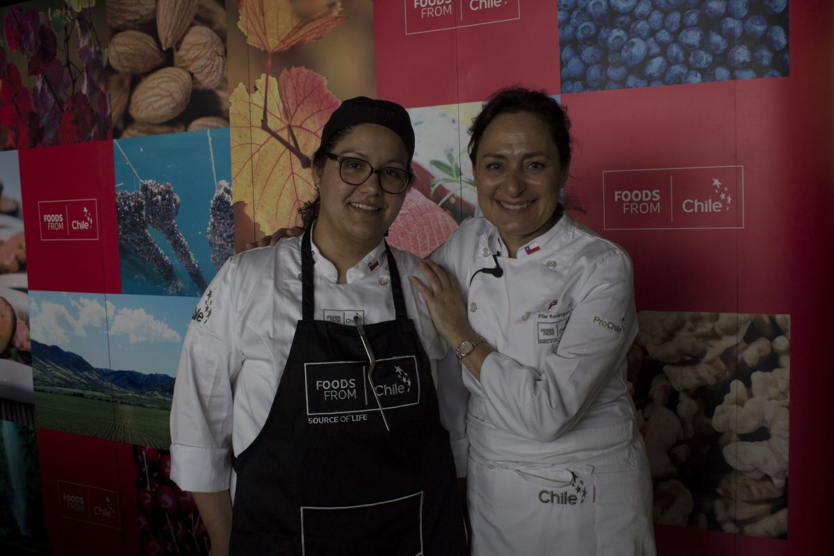 Rosa Hormazabal, Pilar Rodriguez