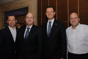 Roger Parnow, Daniel Sasse, Markus Lorenzini, Roland Wein