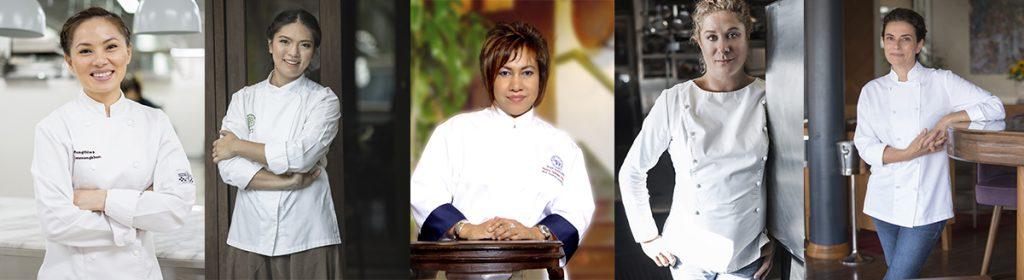 World-Class female chefs to gather in Bangkok forInternational Womens' Day culinary forum
