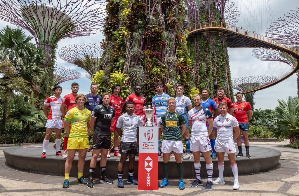 Singapore rugby 7s team captains